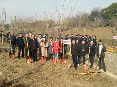 市财政局积极参加全市植树活动